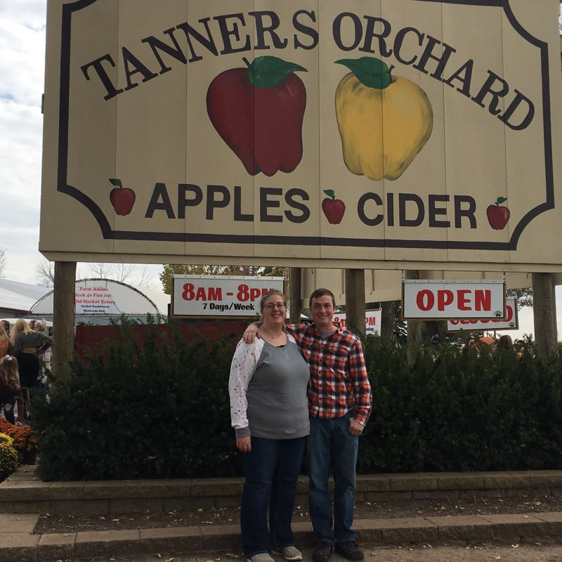 Spending the Day at the Orchard
