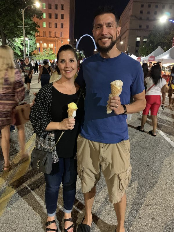 Dessert at a Food Festival