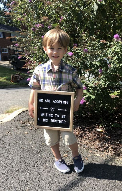 Jake Can't Wait to be a Big Brother!