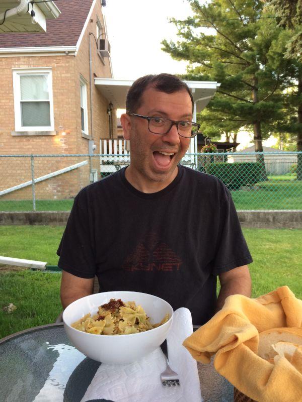 Dinner Outside!