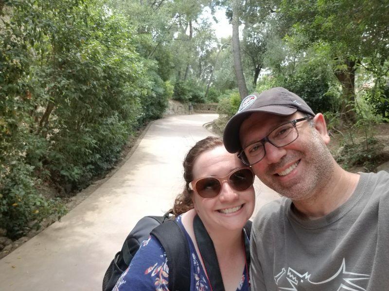 Gaudi Park in Spain