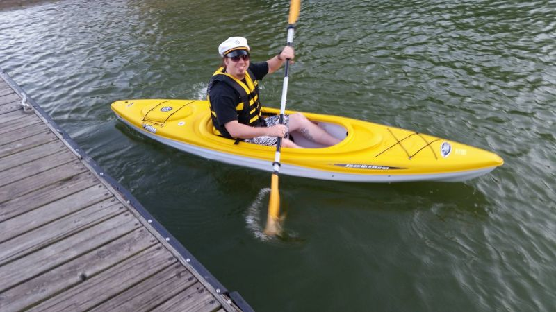 Chris Kayaking