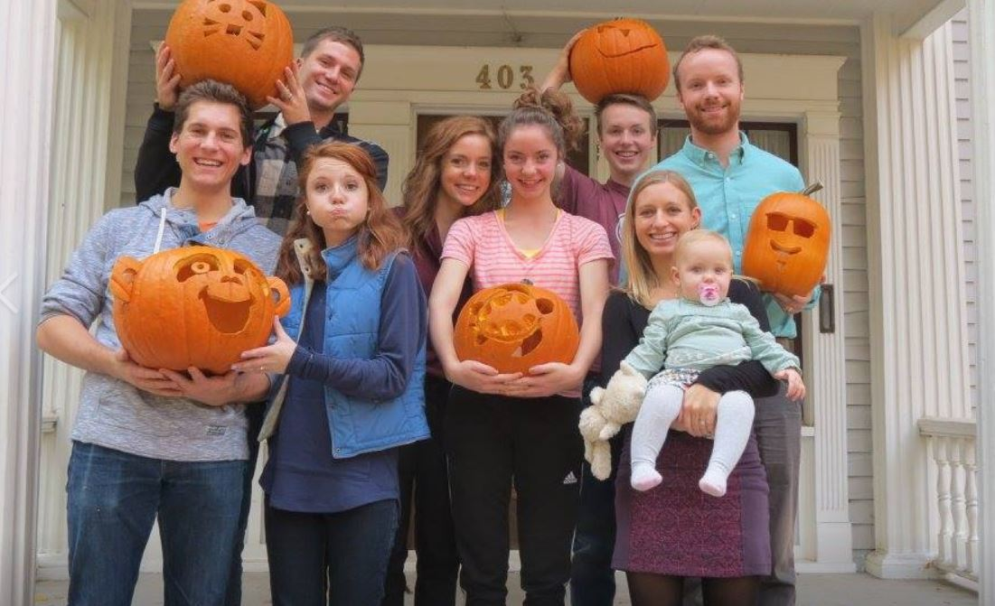 Carving Pumpkins With Family