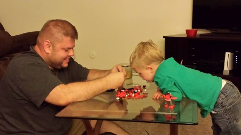 Legos With Our Nephew