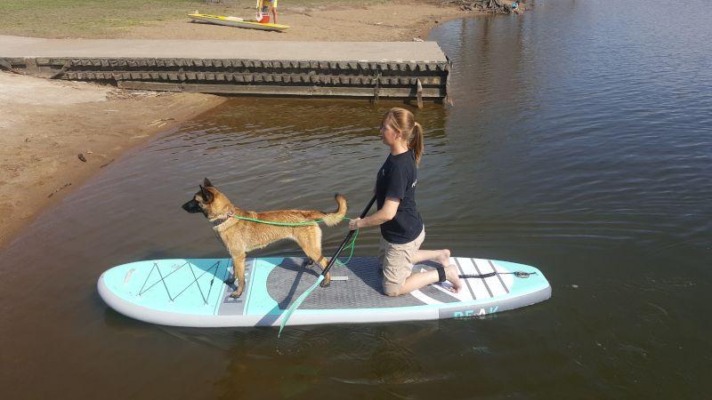 Shannon Paddleboarding