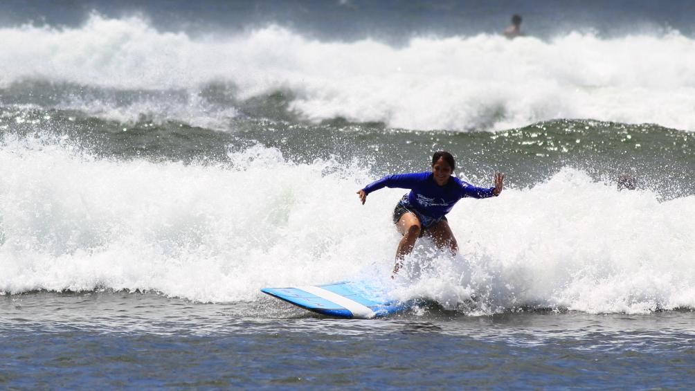 Christie Surfing