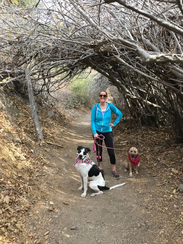 Ashley on Her Favorite Hike With Chance & Daisy