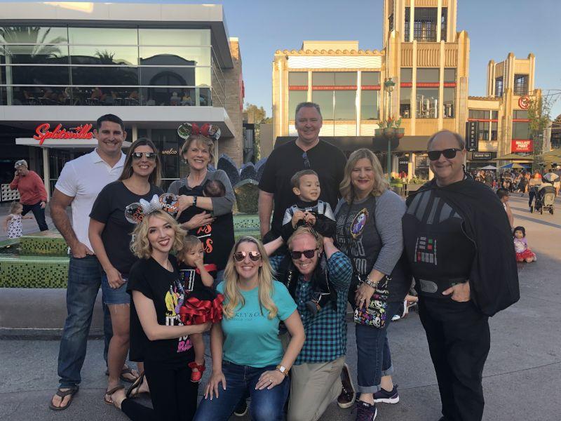 Family Fun at Disneyland!