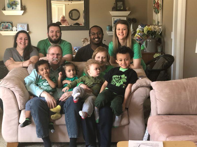 Celebrating St. Patrick's Day with Kelly's Family
