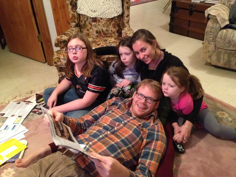 Reading With Our Nieces