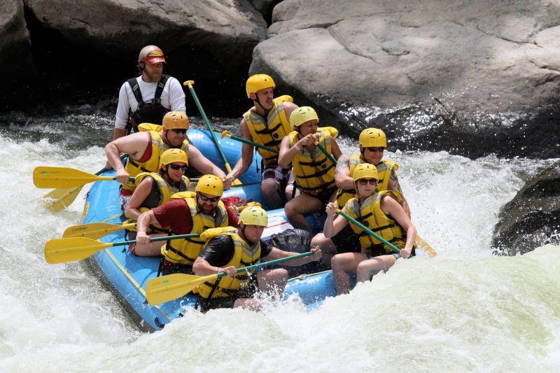 White Water Rafting Adventure