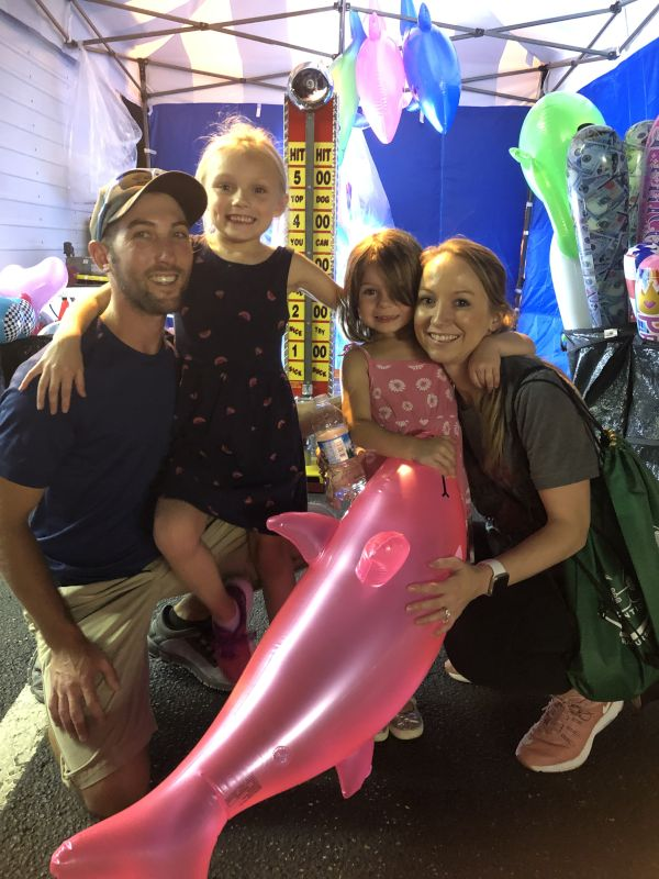 Carnival Fun with Our Nieces