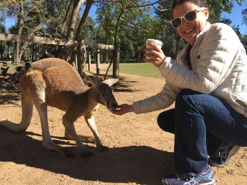 Visiting an Animal Sanctuary in Australia