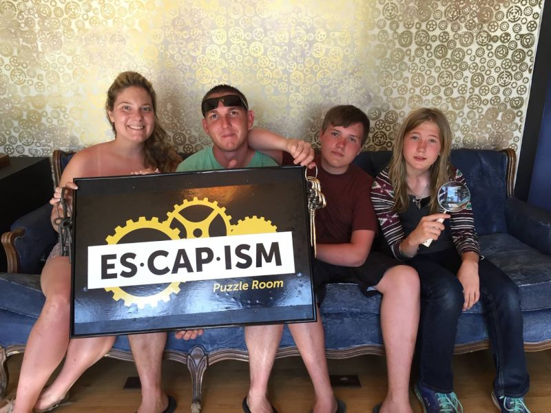 Escape Room with the Kids