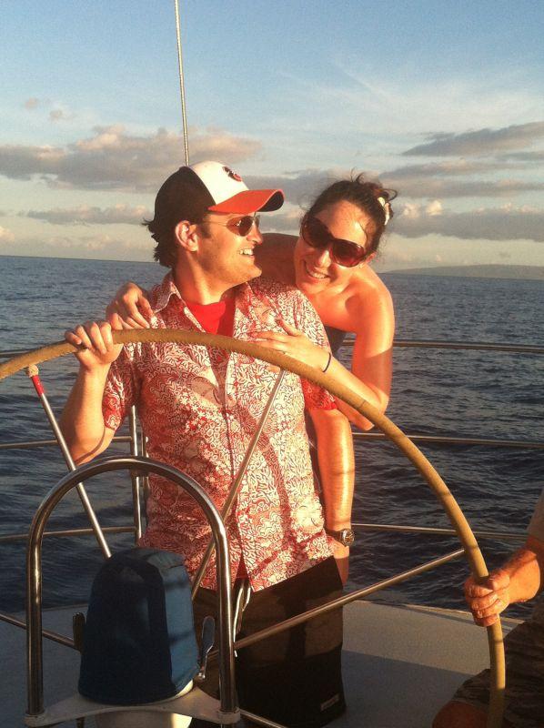 Boat Ride in Hawaii