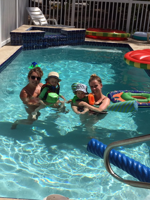 Swimming With Our Nephews