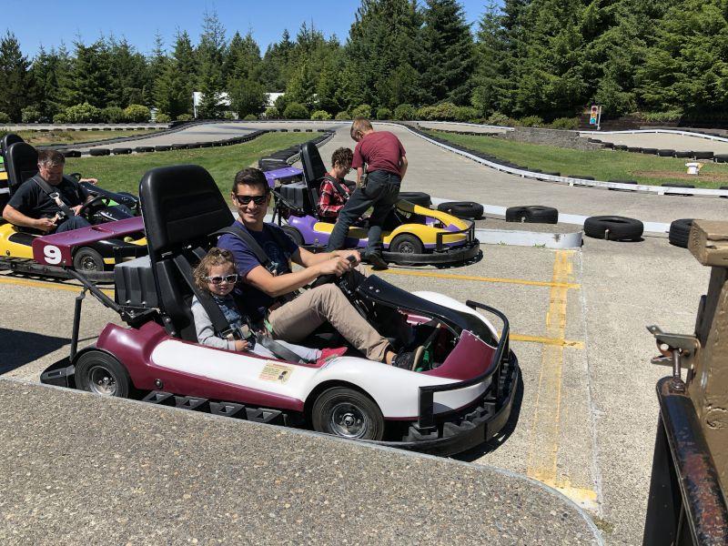 Daddy Daughter Go Kart Ride