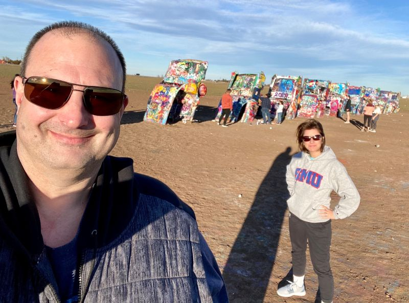 Cadillac Ranch - Route 66 Trip