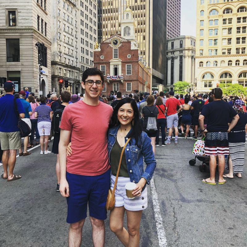 In Boston for the Fourth of July