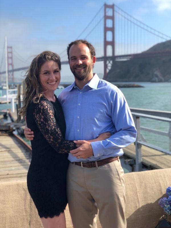 At a Wedding in San Francisco