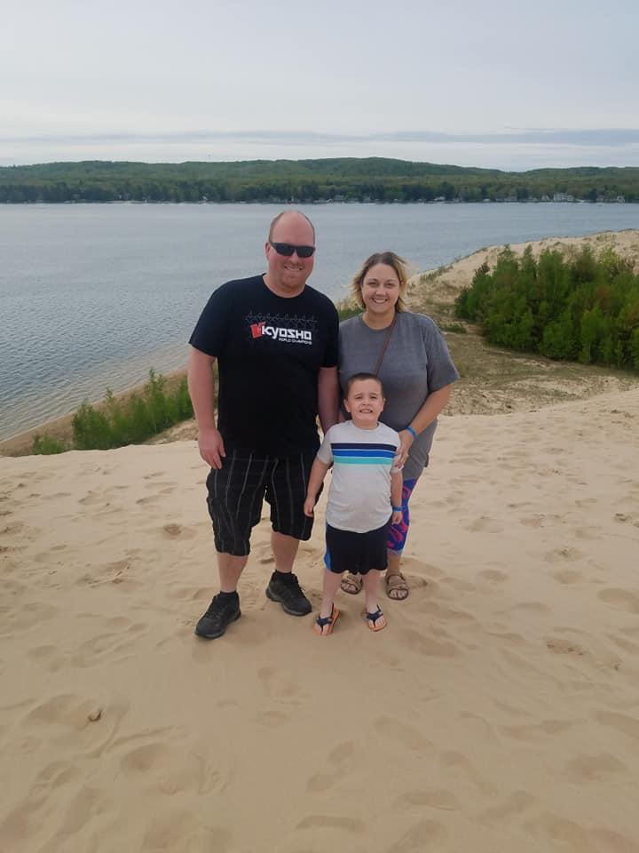 Fun at Silver Lake Sand Dunes