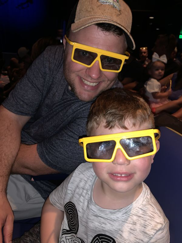 Taking in a 3D Show