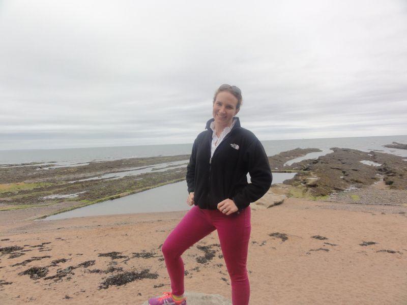 Themis on the Beach in Scotland