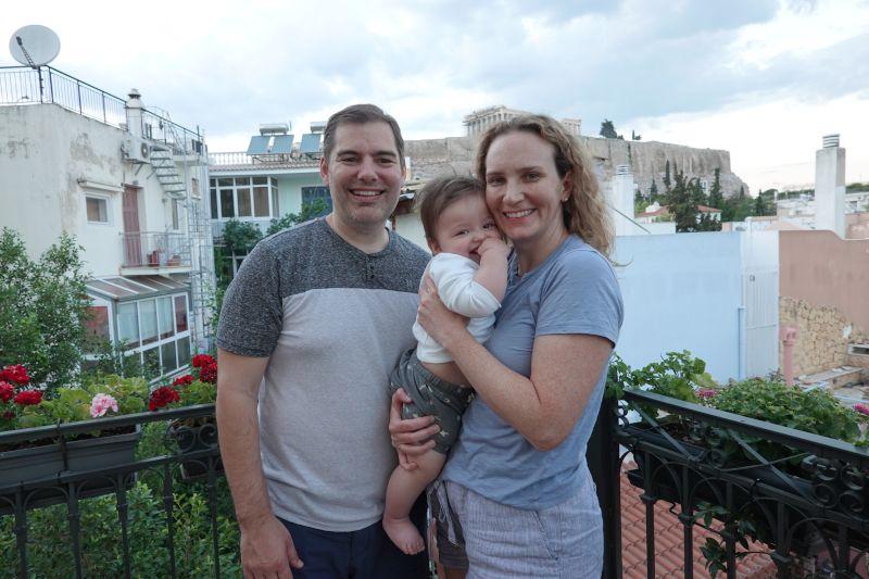 Family Trip to Athens