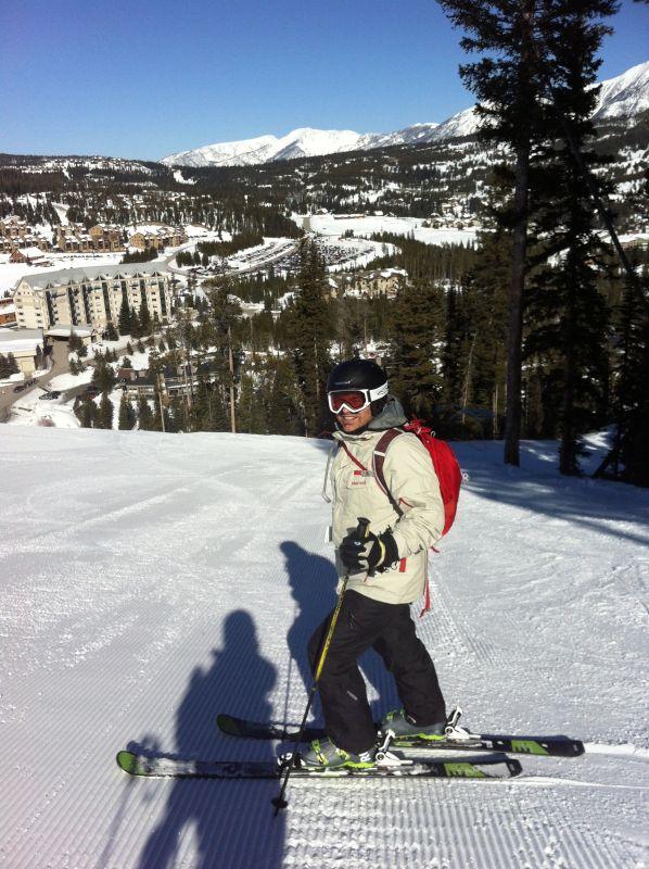 Ron Skiing