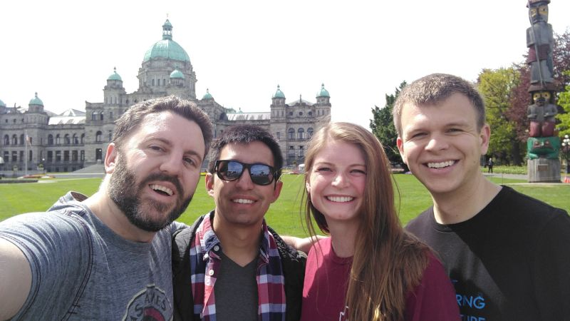 Seeing the Sights in Victoria, Canada With Friends