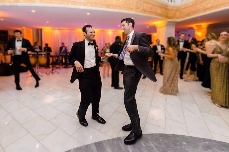 Dancing at a Family Wedding