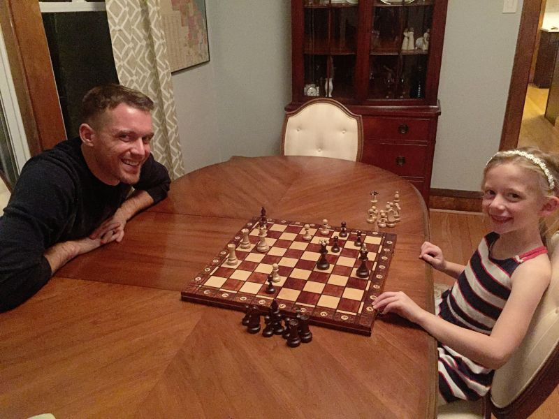 Teaching Our Niece How to Play Chess