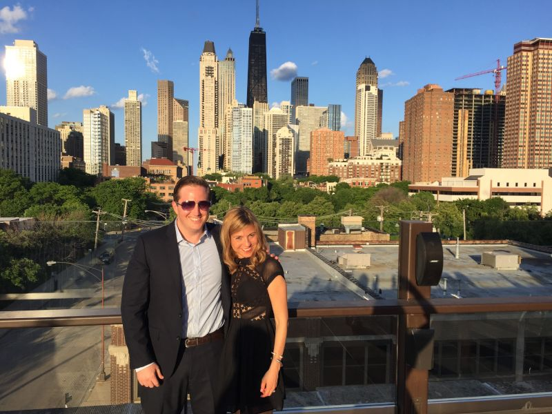 At a Wedding in Chicago