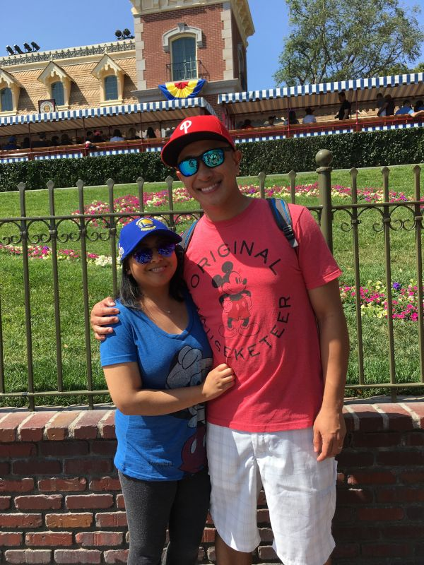 A Day at Disneyland