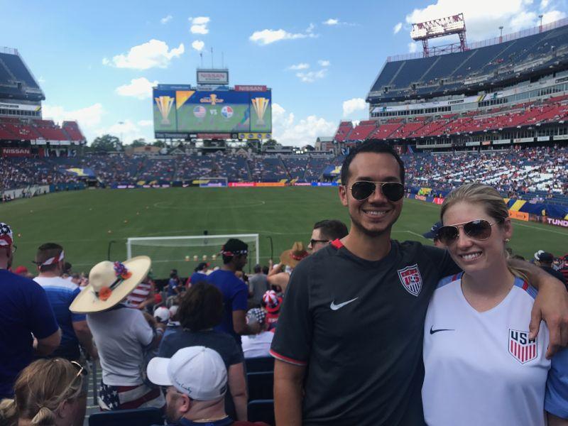 USA Soccer Game