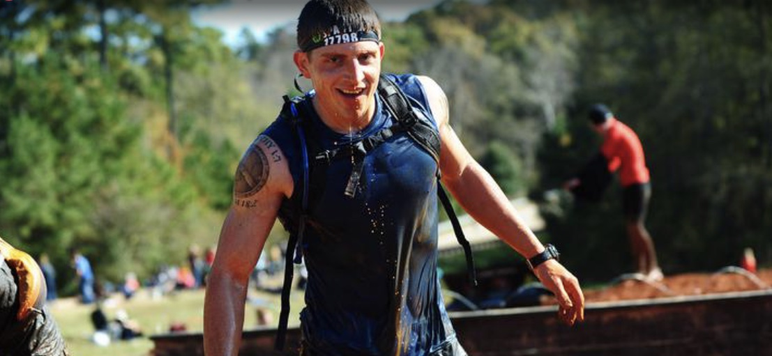 Stephen During a Spartan Race