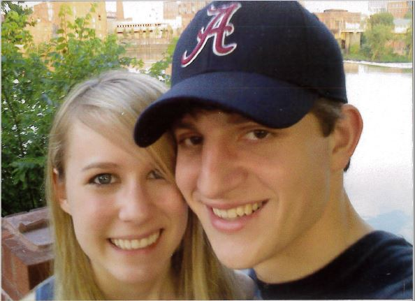 One of Our First Pictures Together When We Started Dating - Emily was 16 & Stephen was 17