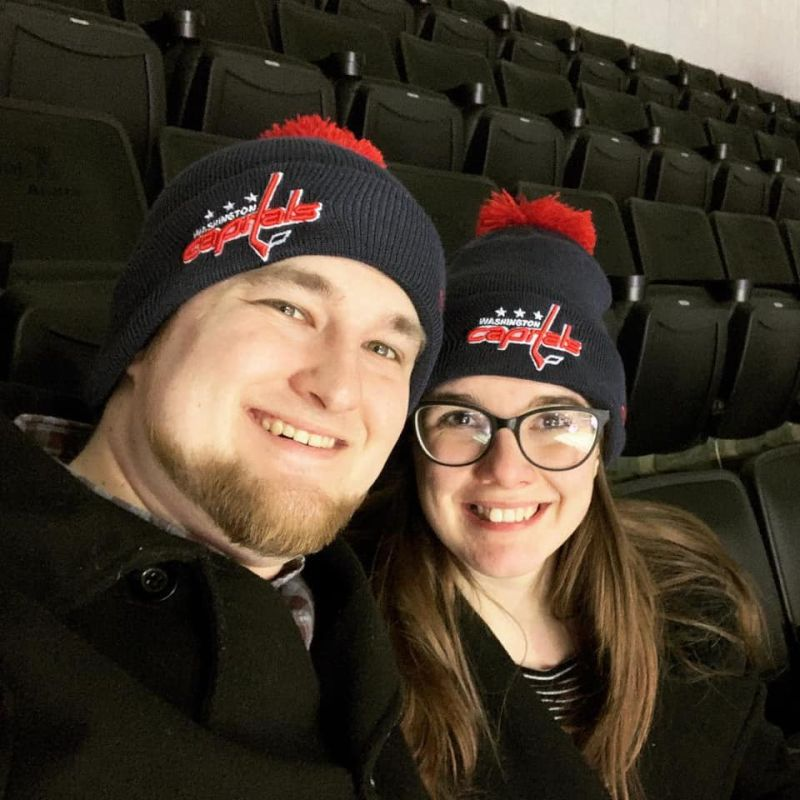 Attending Our First Washington Capitals Game