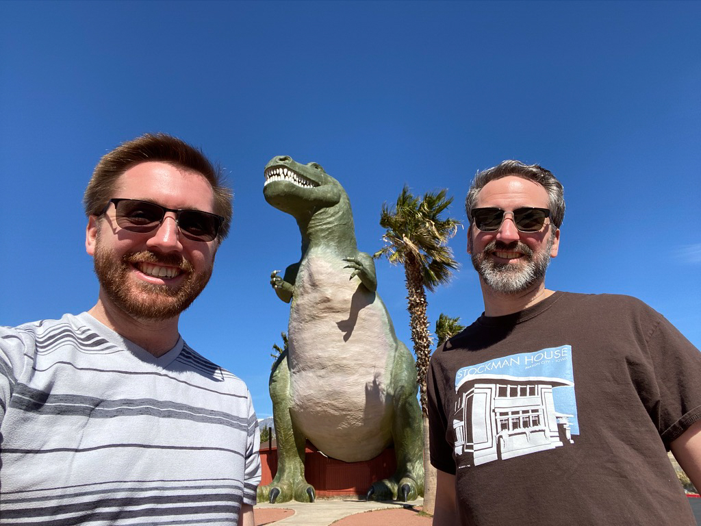 Taking a Pit Stop on Our Drive From Los Angeles to Palm Springs