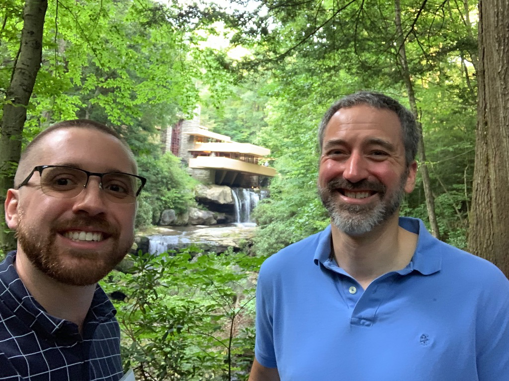 We Love Visiting Famous Frank Lloyd Wright Homes - At Fallingwater