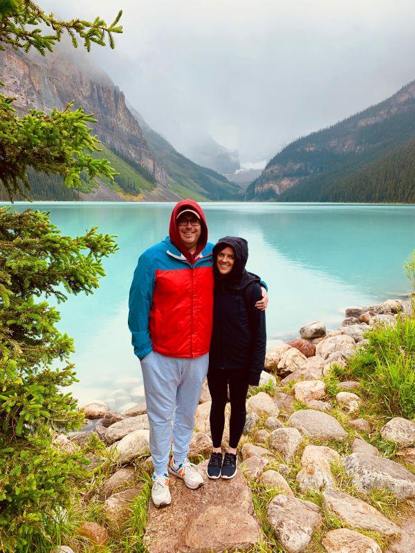 Hiking in Banff, Canada