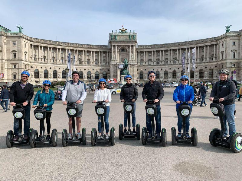 Riding Segways With Friends in Vienna