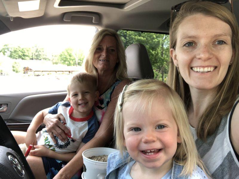 Drive Through Zoo with Grandma