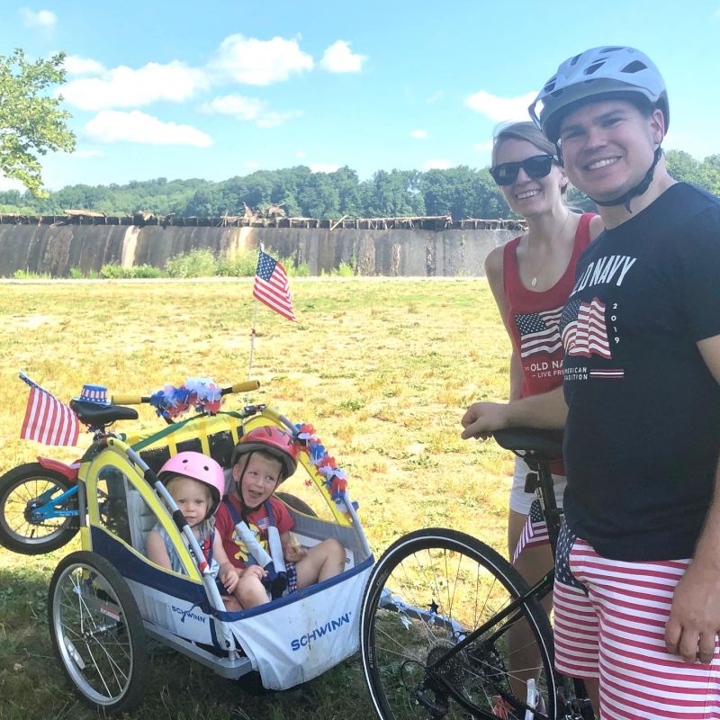 Our Own 4th of July Bike Parade