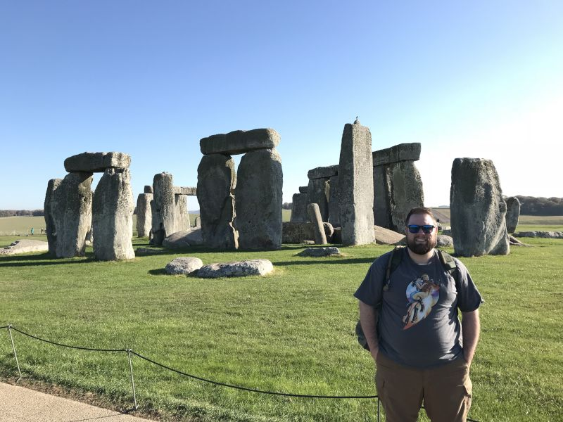 Beautiful Day at Stonehenge
