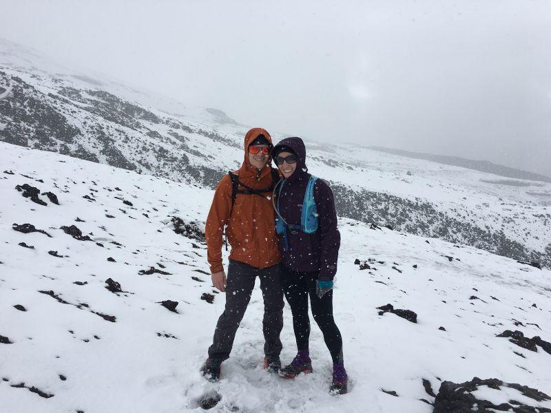 Climbing Mountains in Snowy Ecuador