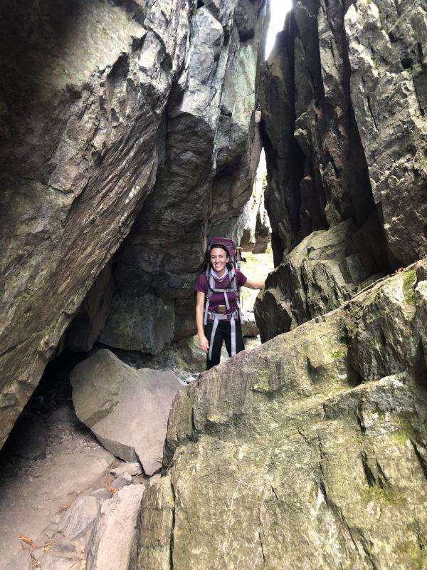 Dana Exploring Caves