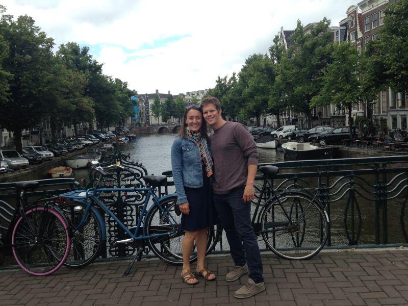 Riding Around Amsterdam