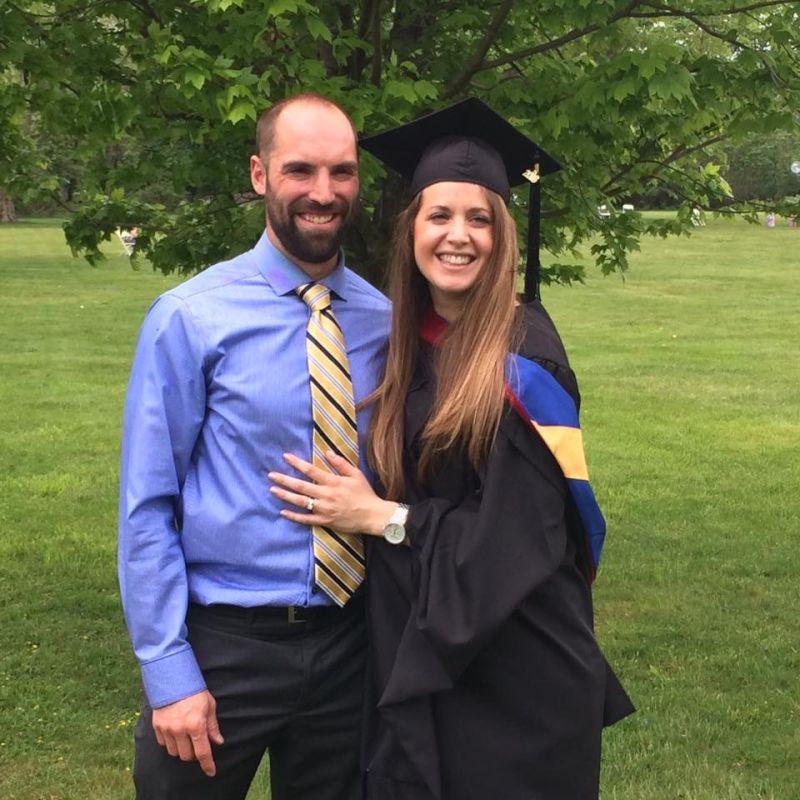 Megan Graduated!!!