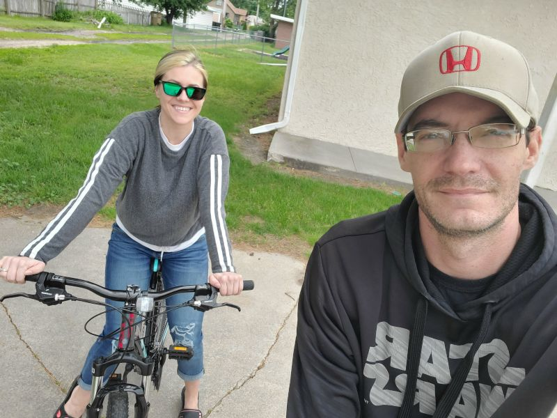Out on a Bike Ride